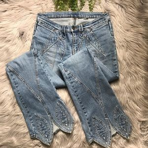Buffalo David Bitton Flare Leg Jeans